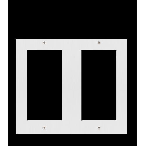 Moldura Dupla para 4 módulos